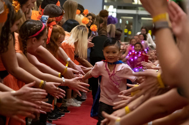 A BuckeyeThon Kid at the 2019 Dance Marathon