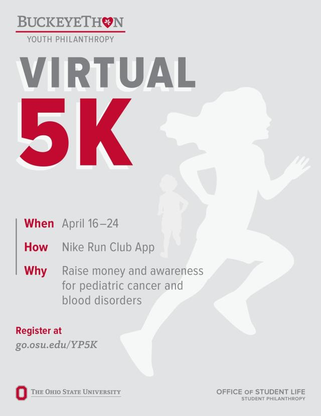 Virtual 5k for YP students!