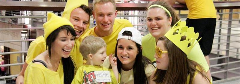 Team Members get to meet BuckeyeThon Kids at our events!